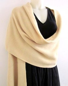 Wool Knitted Wrap