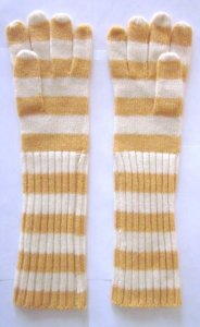 Extra-Long Striped Glove