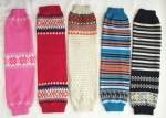Fairisle Knitted Legwarmer