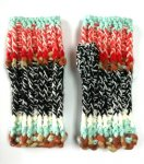 Hand Knit Multi-Color