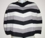 Striped Capelet