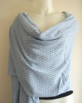 Pointelle Knit Wrap